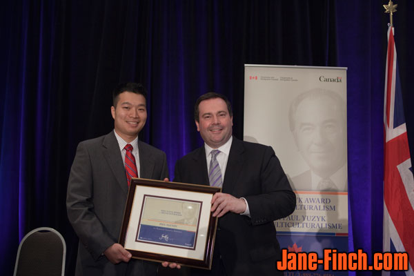 Paul Nguyen, Honourable Jason Kenney, Minister of Citizenship, Immigration and Multiculturalism