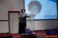 Ontario Fairness Commission, Hon. Jean Augustine, addresses the Covenant Chapel