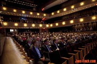 2011 Heritage Toronto Awards - full house inside Koerner Hall