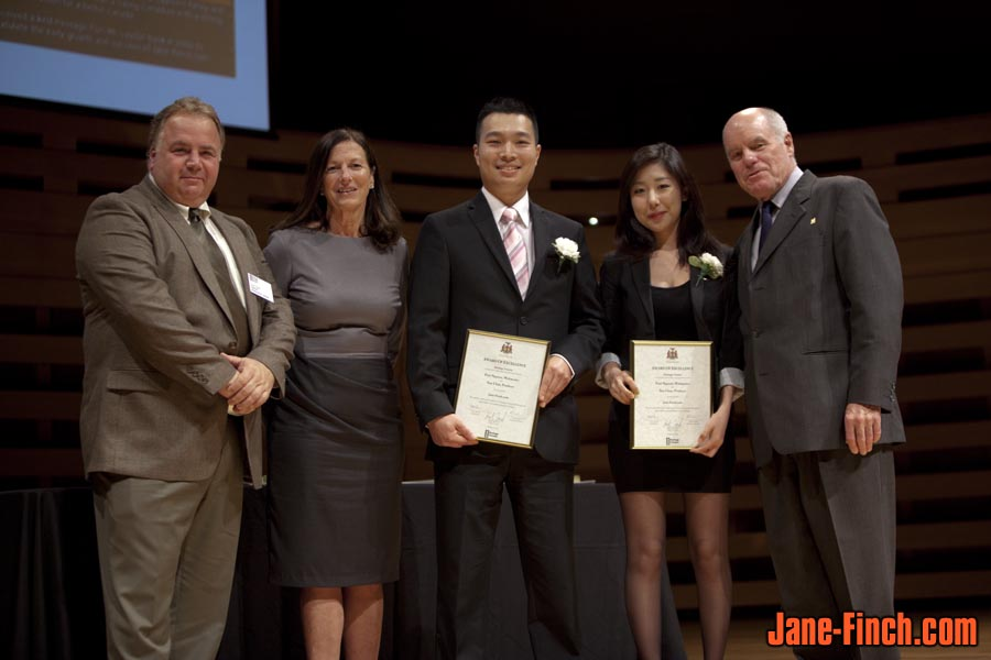 2011 Heritage Toronto Awards - Sam Trigila, Eve Lewis, Paul Nguyen, Sue Chun and Peter C. Ortved