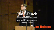 Jane-Finch Town Hall Meeting 2012