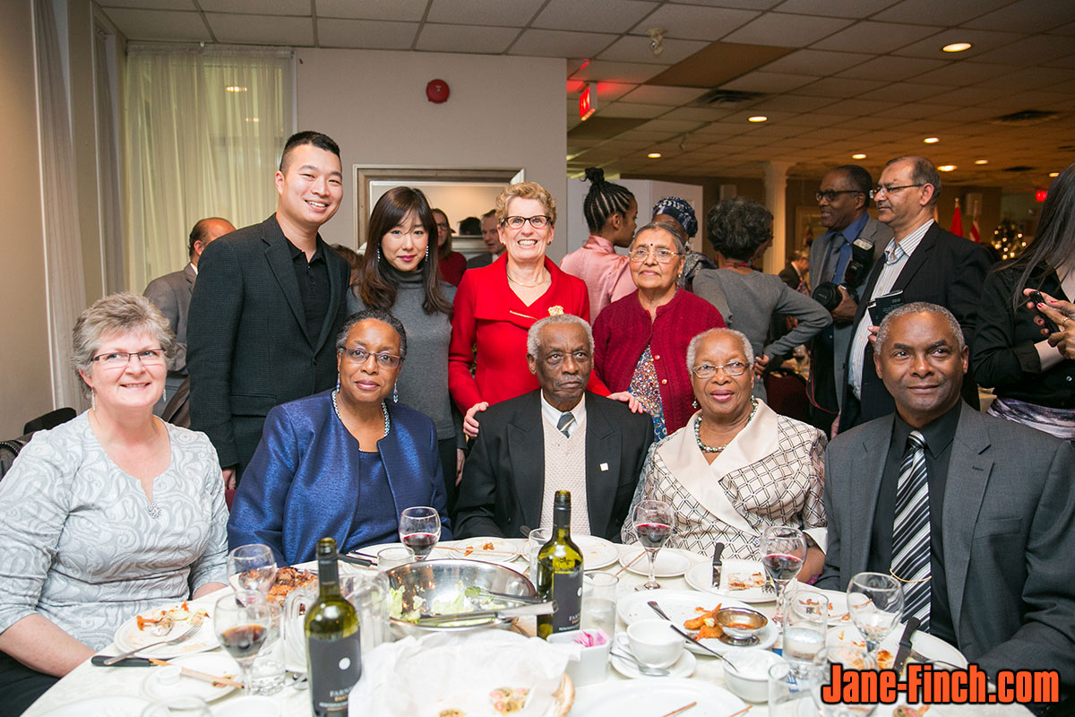 Paul Nguyen, Sue Chun and Kathleen Wynne at the 2014 National Ethnic Press and Media Council of Canada Annual Get Together Dinner