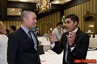 Rotary Youth Impact Awards - CTV News anchor Colin D'mello chats up with Paul Nguyen