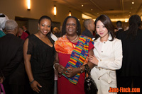 Sue Chun with fellow YWCA award recipient Dr. Akua Benjamin