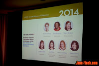 2014 YWCA Women of Distinction recipient Sue Chun joins the panel discussion