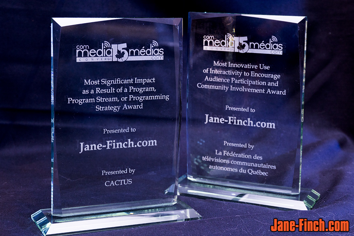 Jane-Finch.com receives two awards from Community Media Convergence