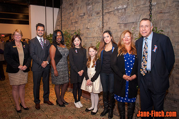 Julien Diciano, Marcia Brown, Sue Chun, Danielle Clayton, Janice Karmody, Denis Sacks