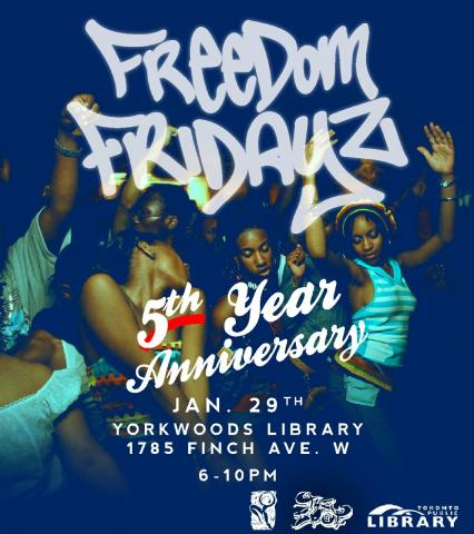 Freedom Fridays 5th Anniversary