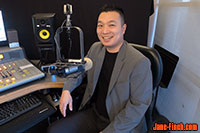 Paul Nguyen is interviewed on Vibe105 FM.