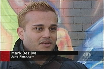 Mark Dezilva on CBC News