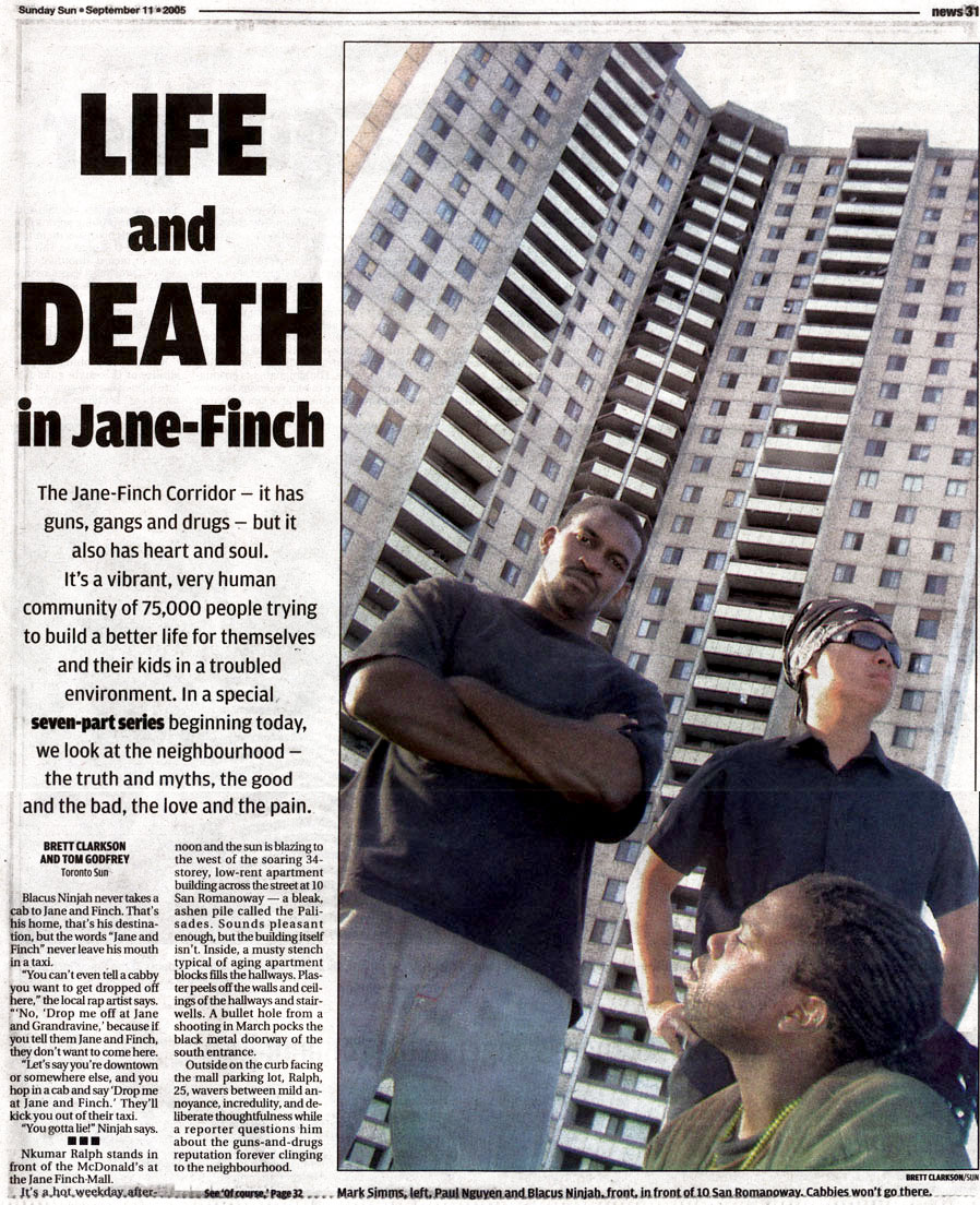 Jane and Finch: Toronto's most dangerous place to be a kid?