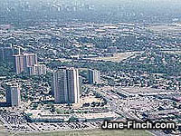 Jane-Finch Aerial View