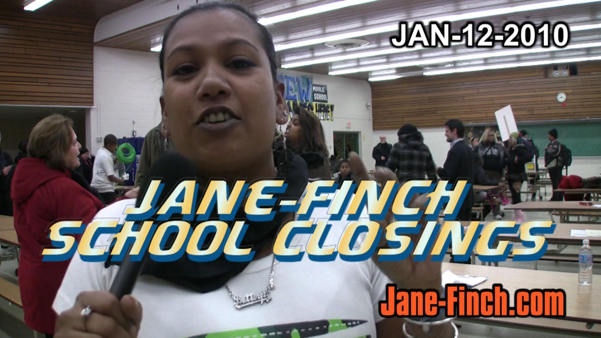 School Closures Toronto: Jane-Finch School Closings